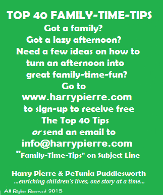 Top 40 Family Time Tips sign Final